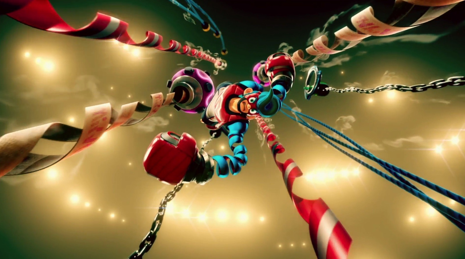 Video: Check Out More 'Arms' Footage From Nintendo Japan