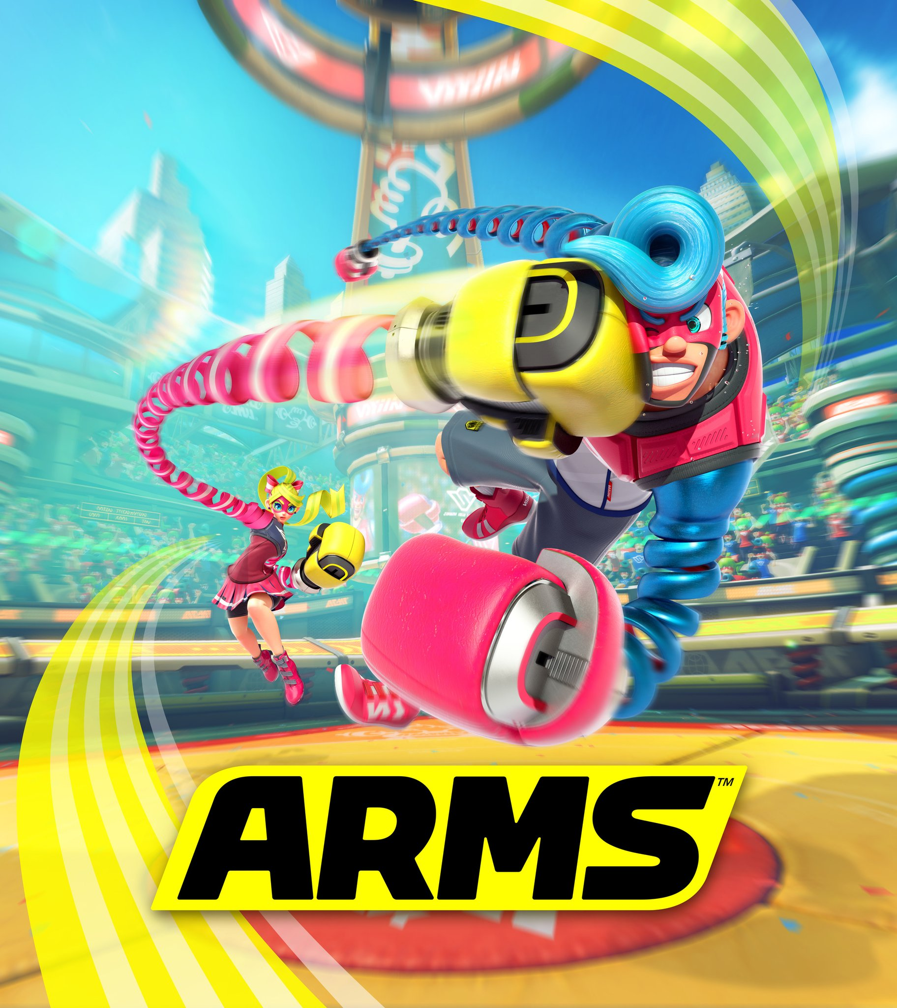 UK: GAME Lists Arms For Nintendo Switch With April 15th