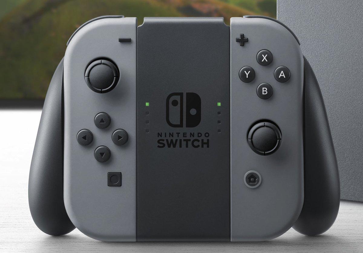 Console Bundled Joy-Con Grip Won't Charge Nintendo Switch Joy-Cons