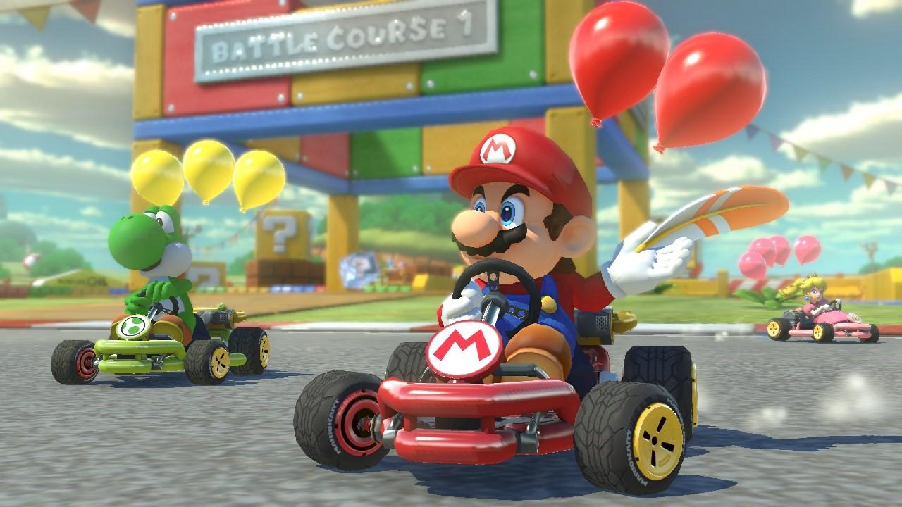 Video Mario Kart 8 Graphics Comparison Wii U And Switch