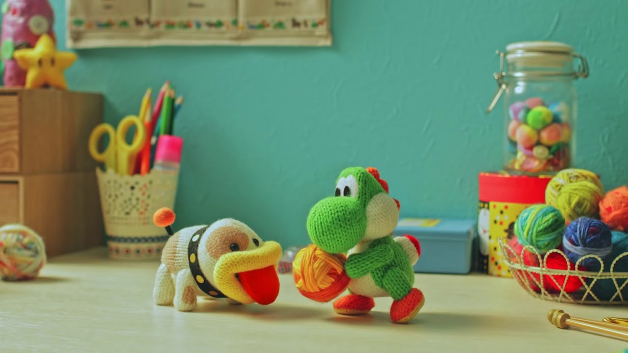 Video: Here's A New USA Commercial For Poochy & Yoshi's Woolly World