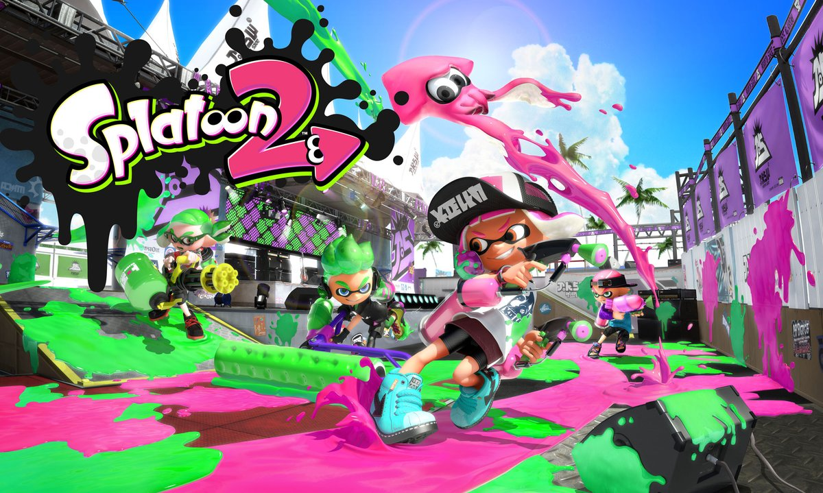 Here's A Look At Splatoon 2's New Diadema Amphitheater Stage