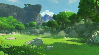 Stunning views await in Breath of the Wild.