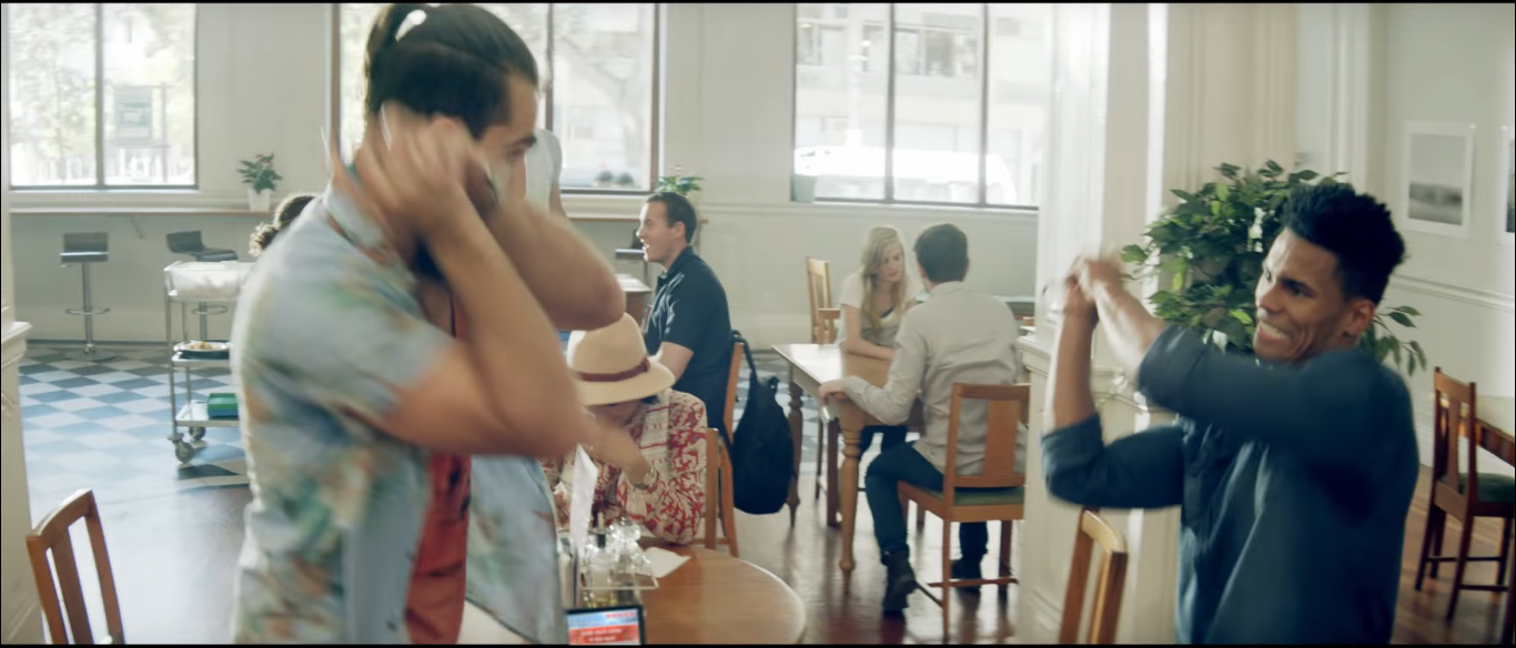 New 1-2-Switch Ad Shows Players Really Getting Into Sword Fight, Milk And Telephone