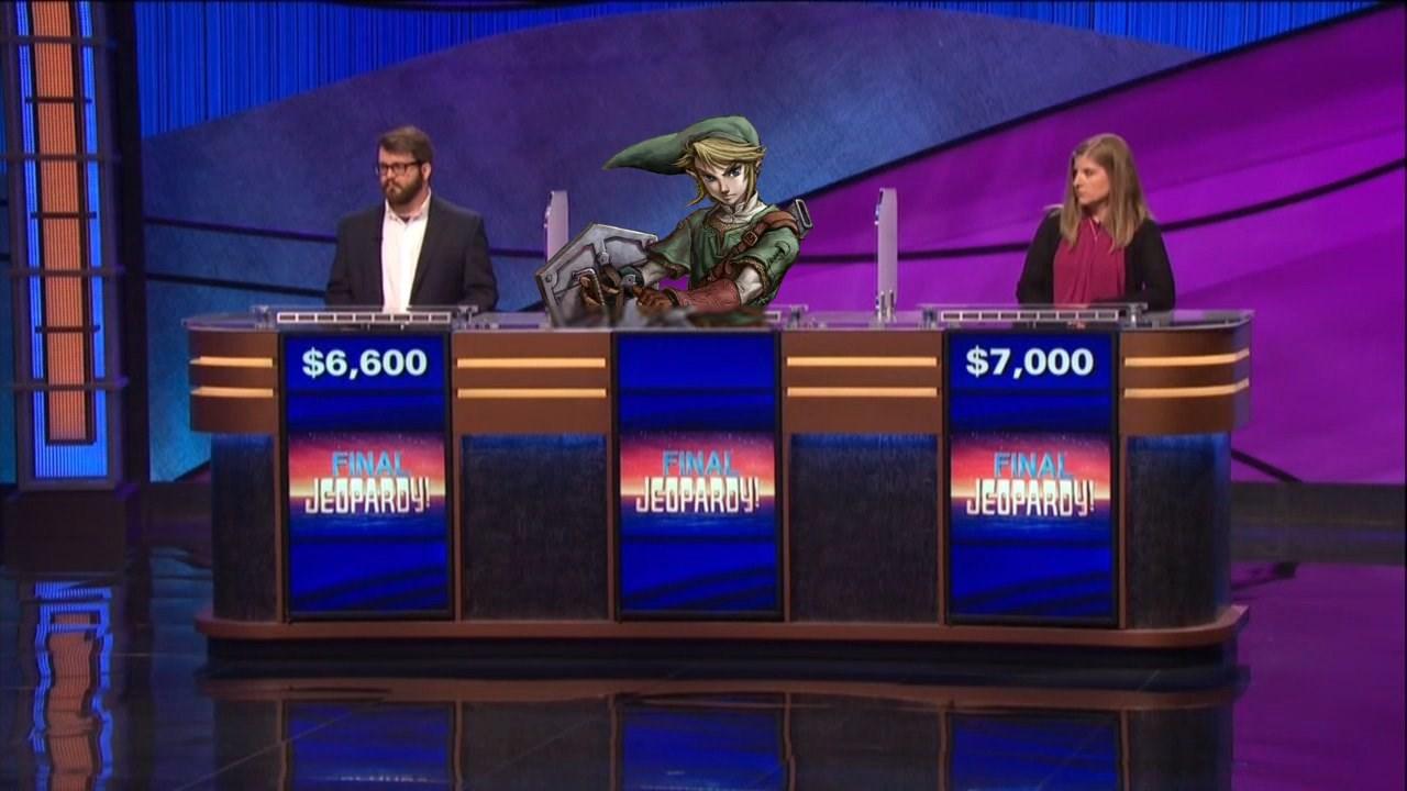 Legend Of Zelda Question Appears On Jeopardy