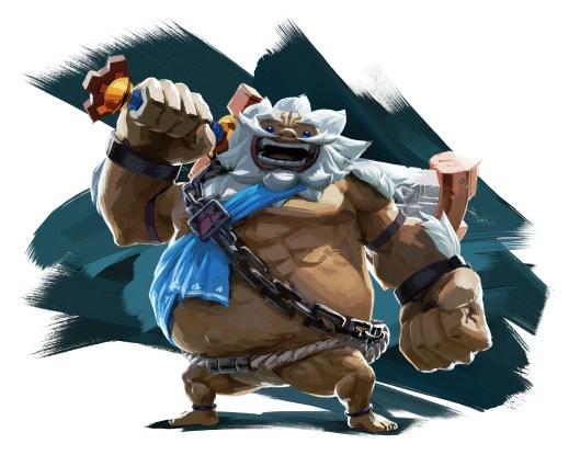 The Goron Chief, Daruk.