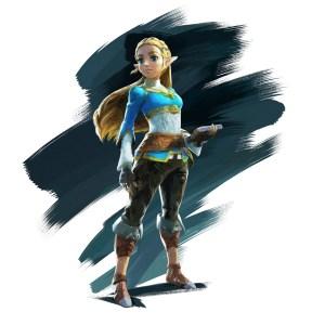 Princess Zelda, pre Calamity Ganon.