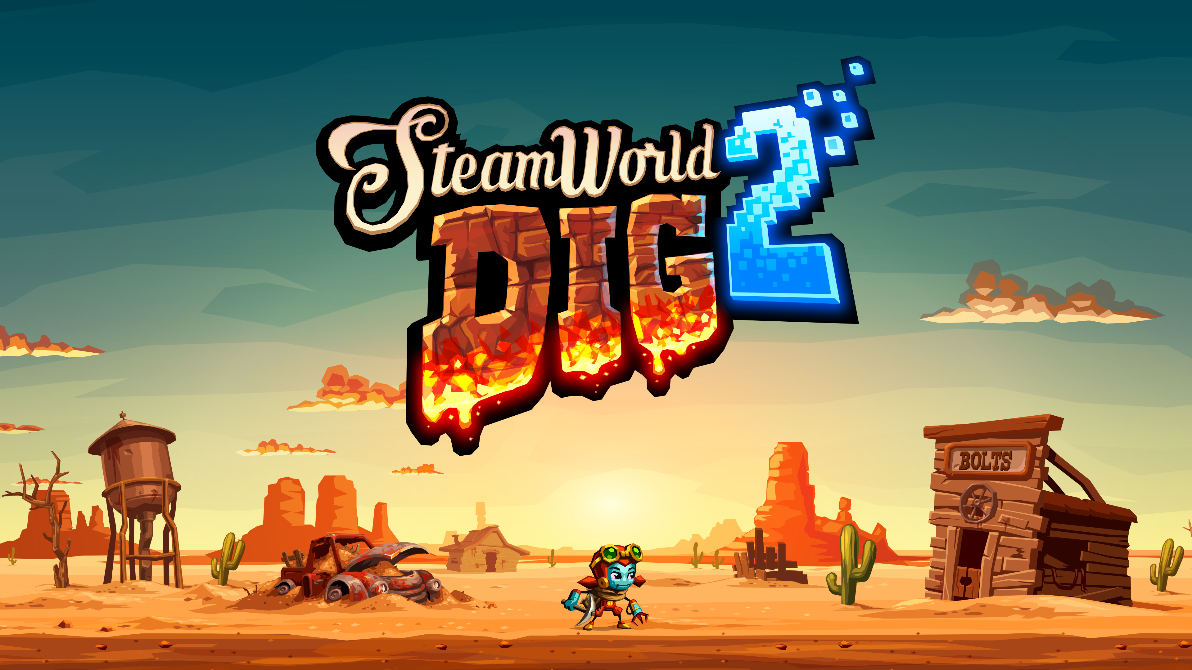 Here's The SteamWorld Dig 2 Launch Trailer