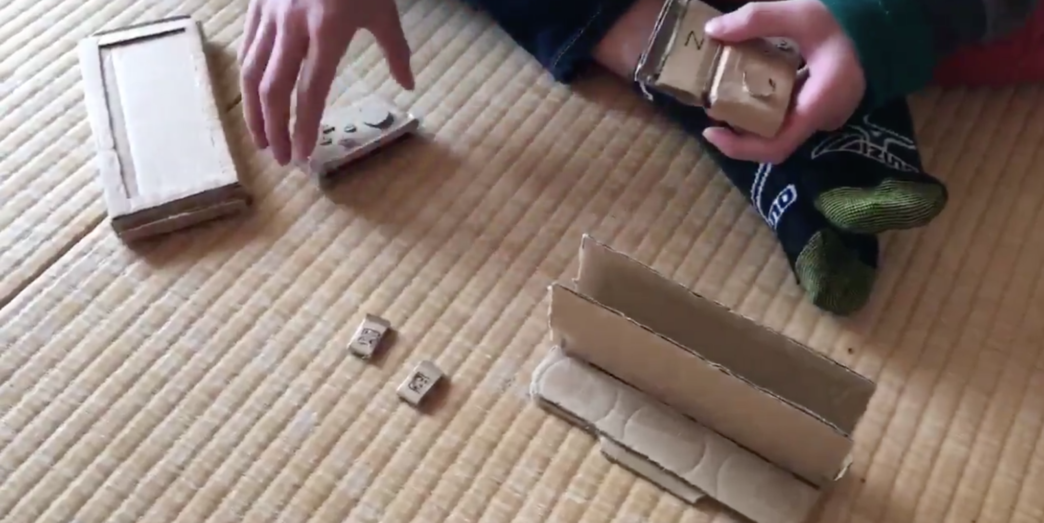 Young Boy Crafts A Switch Out Of Cardboard Because His Mum Wouldn't Buy A Real One