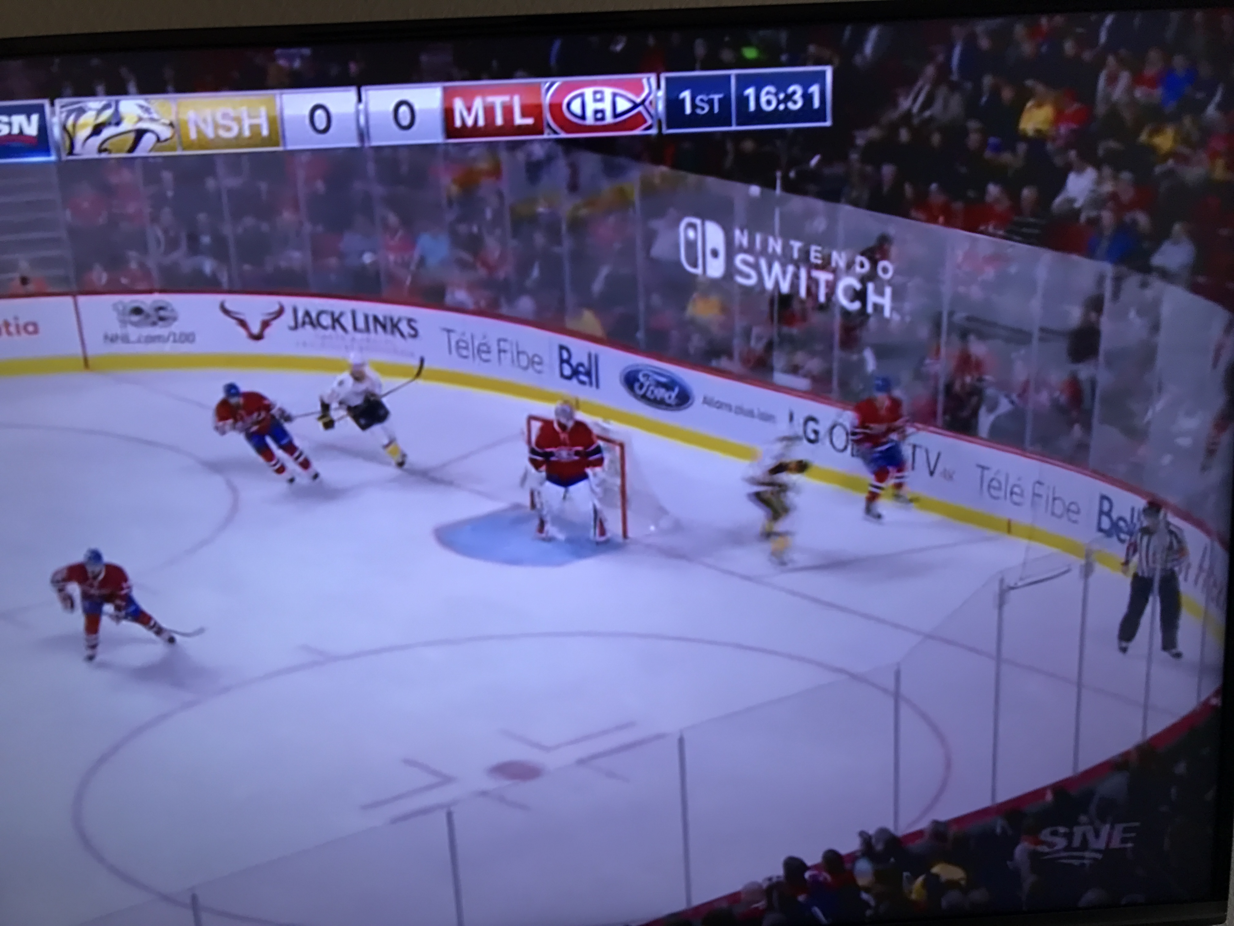The Nintendo Switch Was Advertised During A Hockey Game My