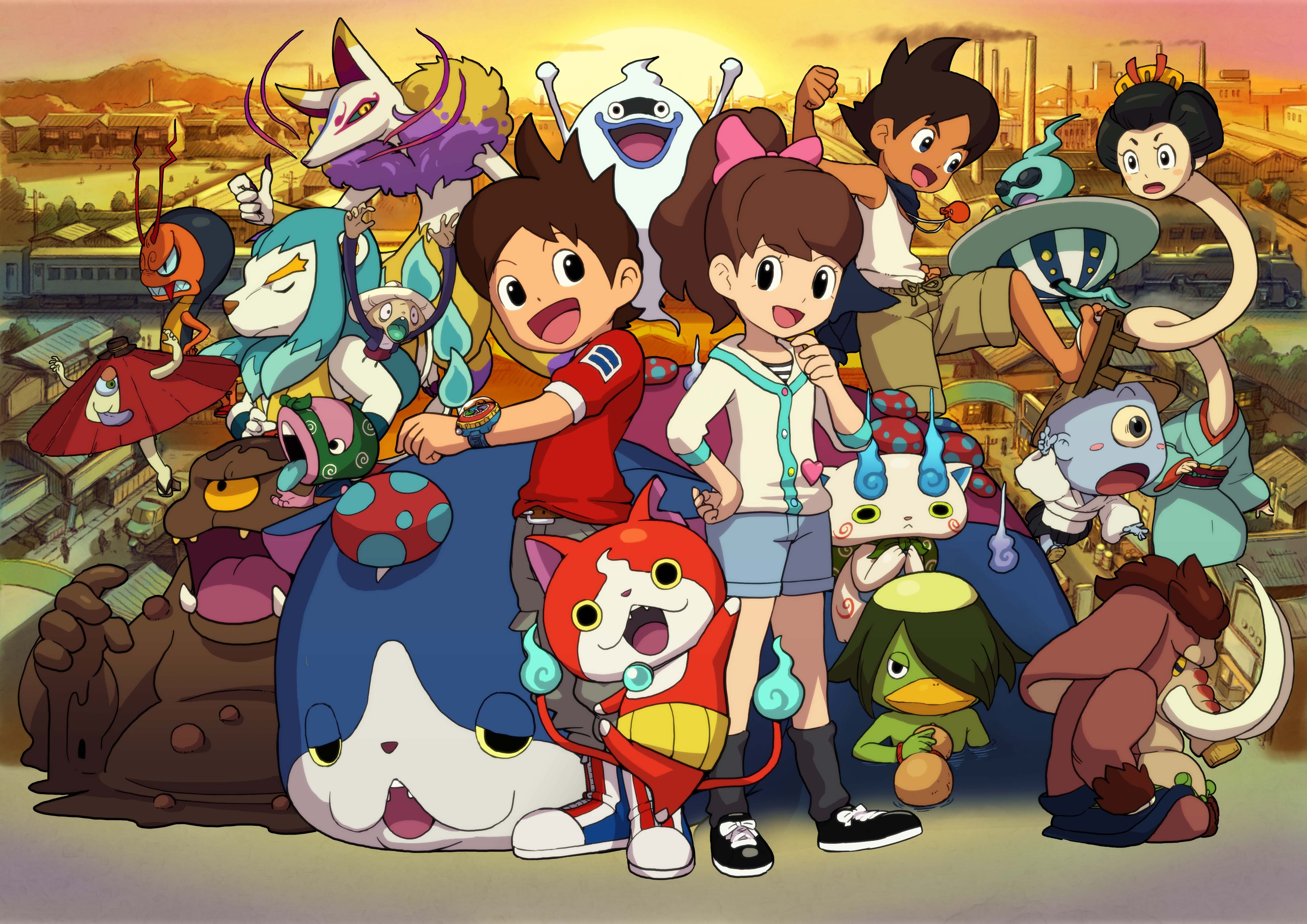 Corocoro Reveals Yo Kai Watch Shadowside Which Is A Cross Media