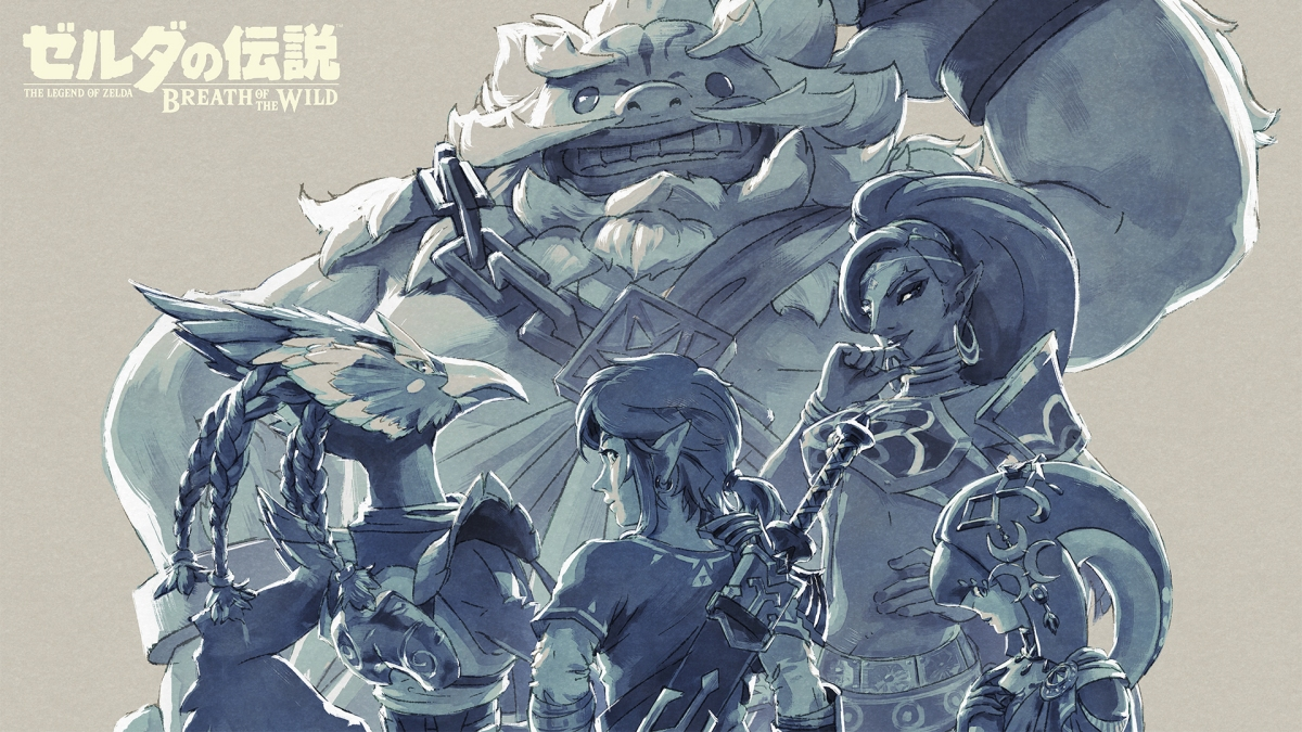 Nintendo Release Gorgeous Breath Of The Wild Wallpapers As A Thank You To Fans