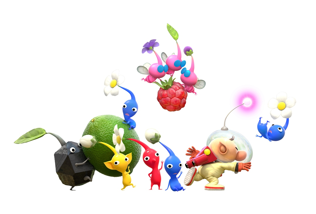 Hey Pikmin Does Not Support 3d On Nintendo 3ds My Nintendo News