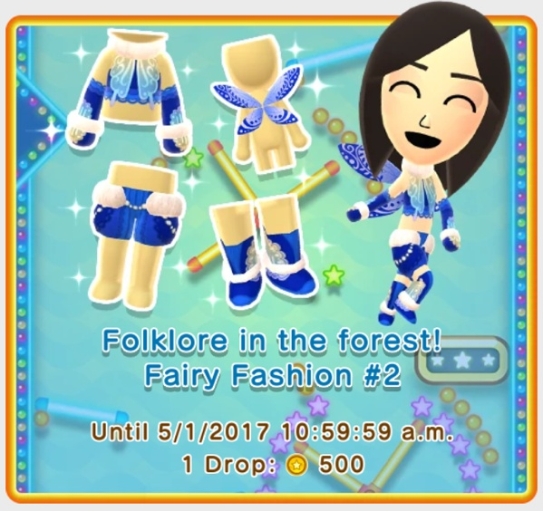 The Latest Miitomo Update Allows You To Dress Up As A Fairy