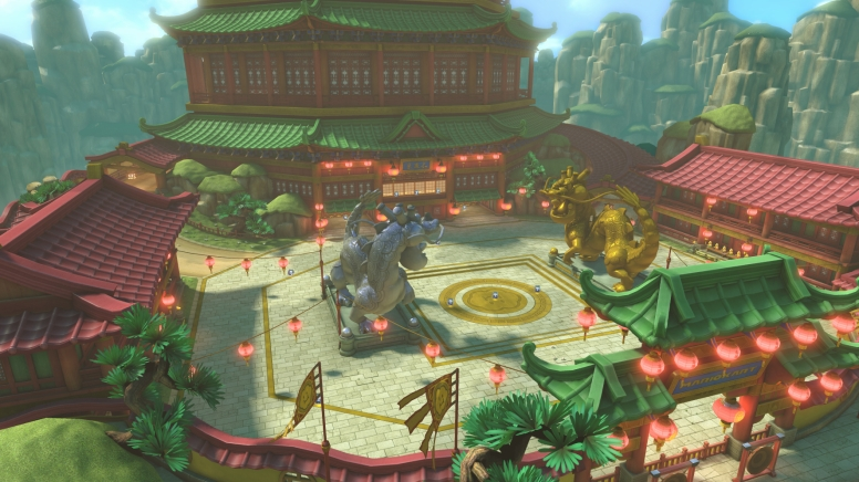 Enjoy this Dragon Palace as one of 8 new battle courses.