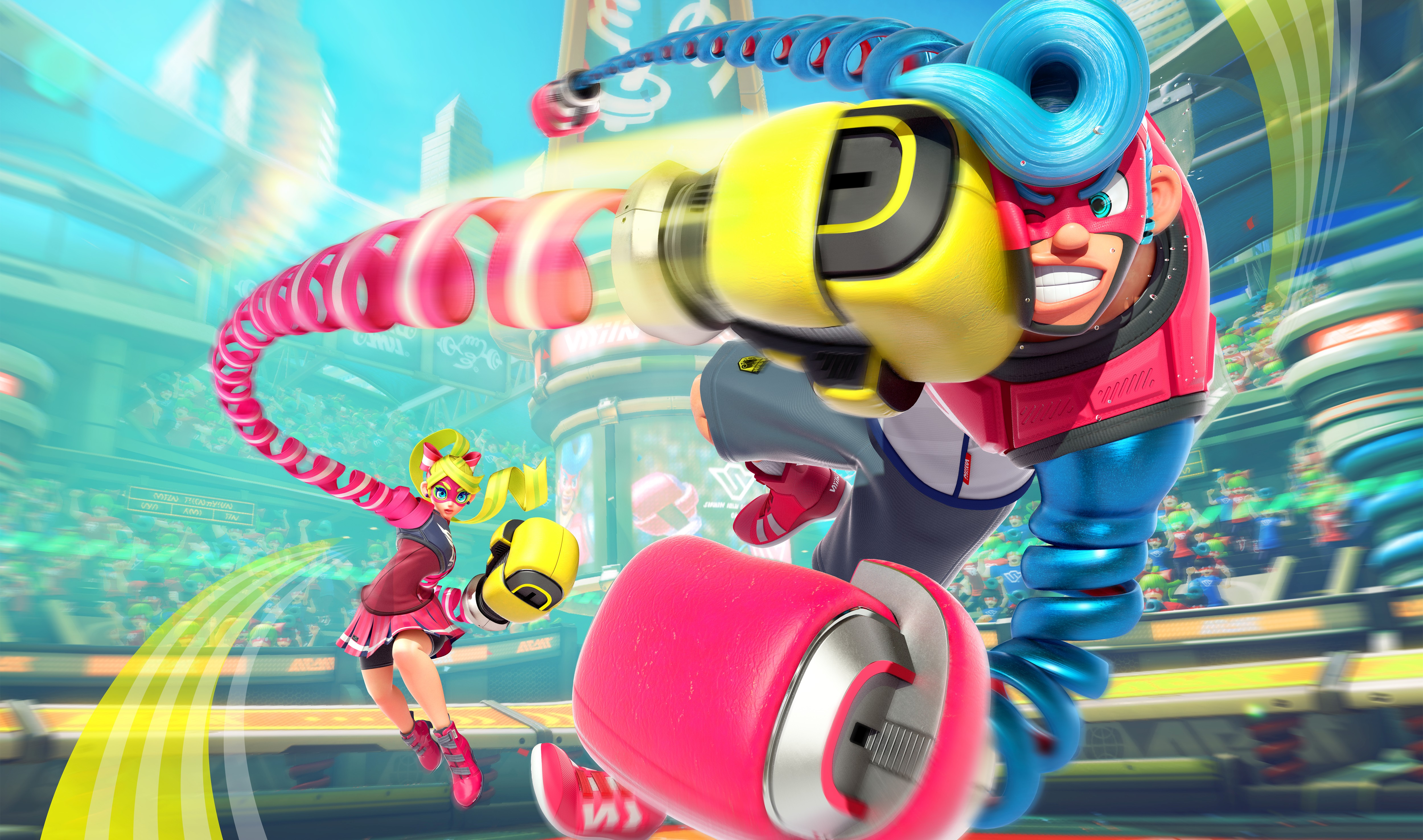ARMS Priced At £49.99 On UK eShop With A 2.2GB File Size