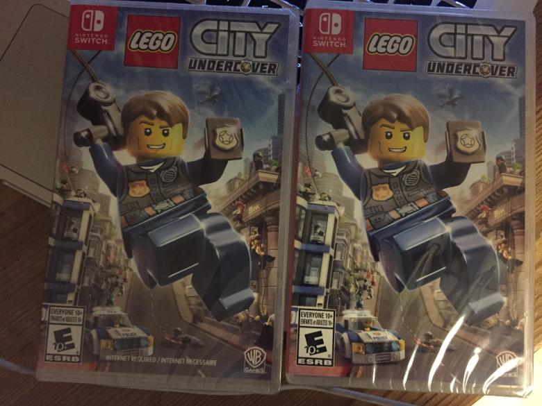 """Internet Required"""" Notice Removed From LEGO City Undercover Box Art ..."""