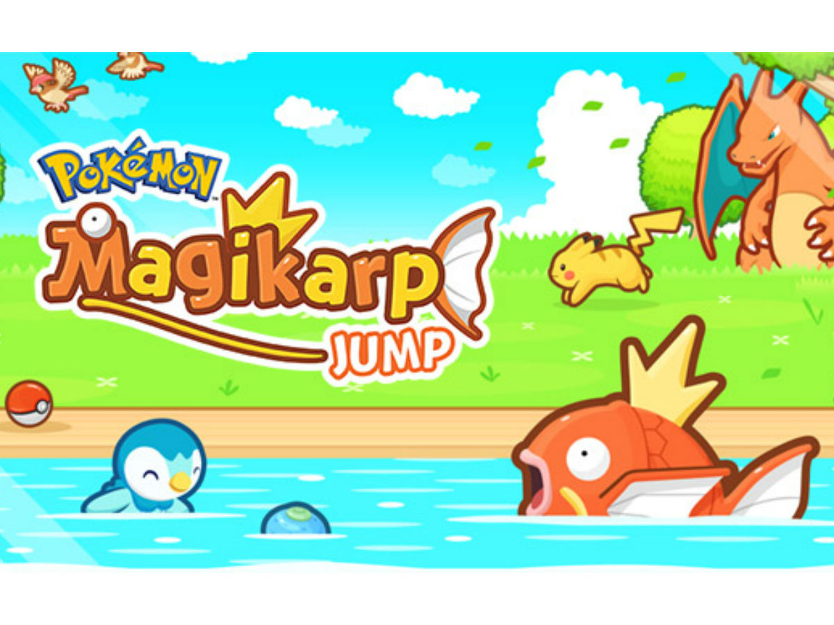 Magikarp Jump Launches For iOS And Android Devices
