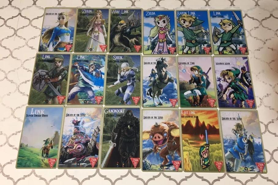 Fans Have Made Custom Legend Of Zelda Amiibo Cards