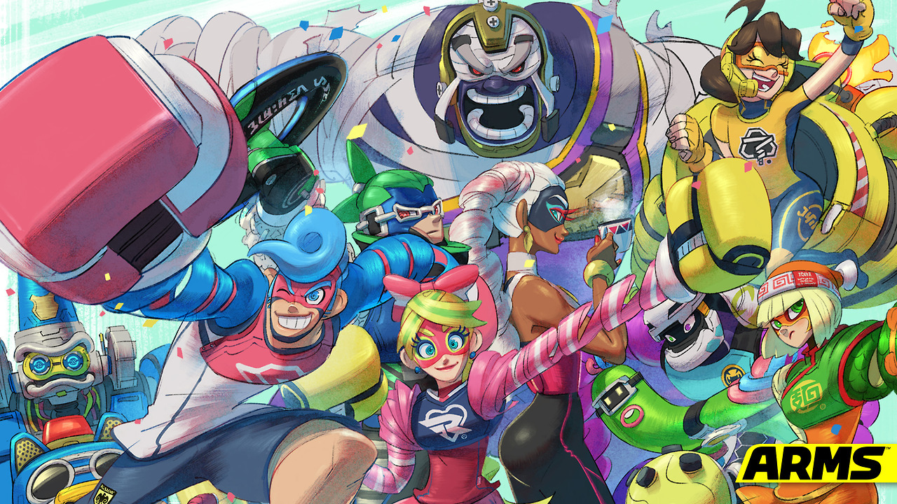 Here S Some Official Arms Wallpapers For Mobile And Desktop My Nintendo News