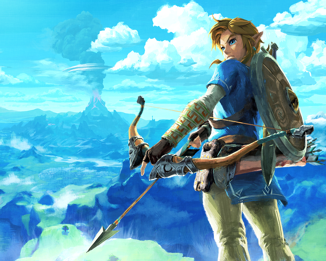 Nintendo Release Beautiful Wallpapers For Both Desktop And Mobile