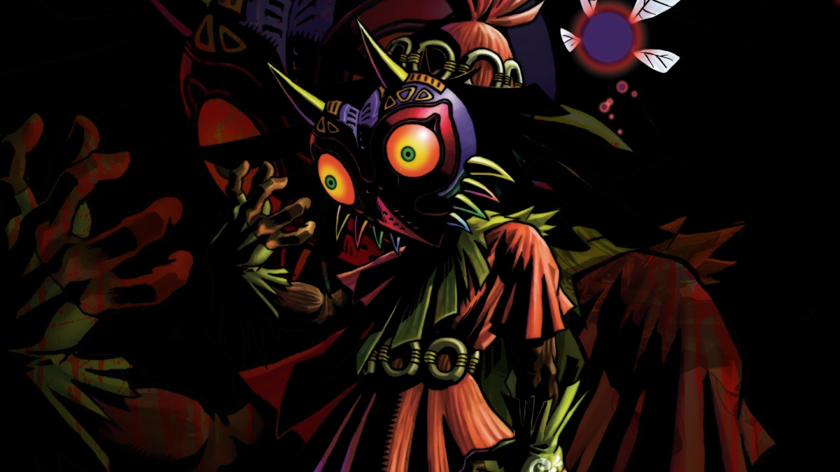 Majora S Mask Desktop Background: Aonuma Discusses Adding Majora's Mask To Breath Of The