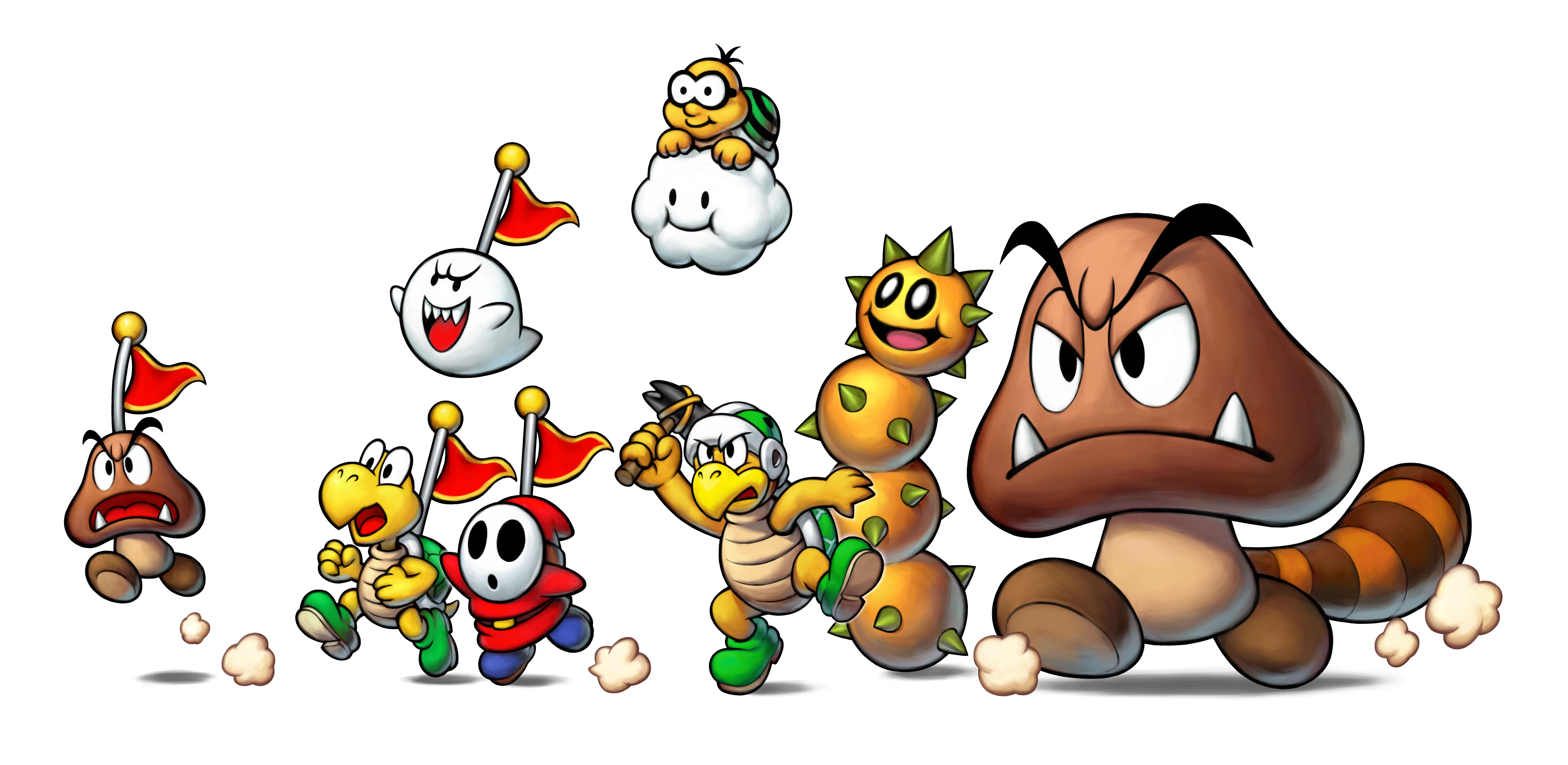 Mario Luigi Superstar Saga Bowser S Minions Doesn T Feature