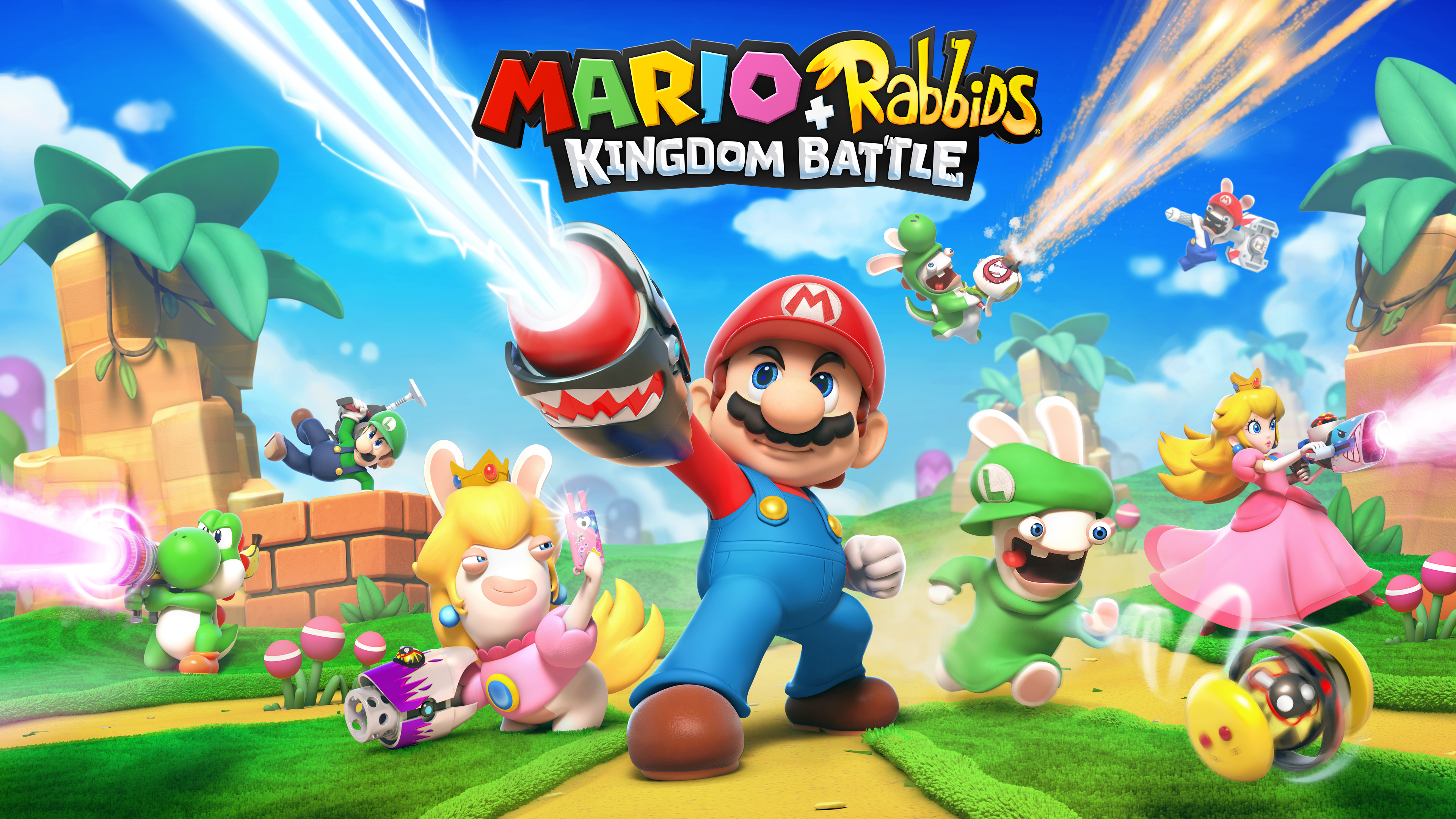 Mario + Rabbids Kingdom Battle Soundtrack Now Available On Bandcamp