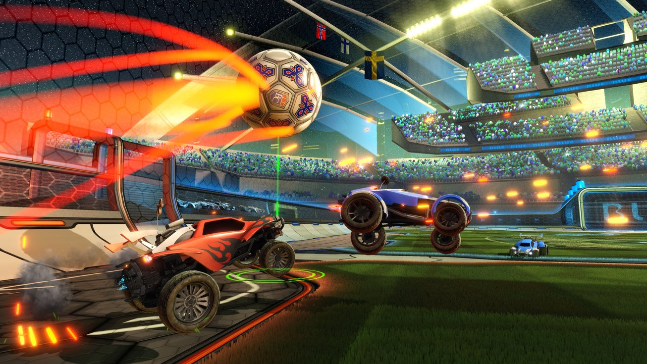 'Rocket League' supports cross-play on every console, even PS4
