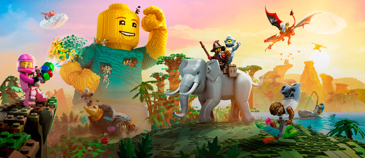 LEGO Worlds Coming To Switch September 5 (US) / September 8 (EU)