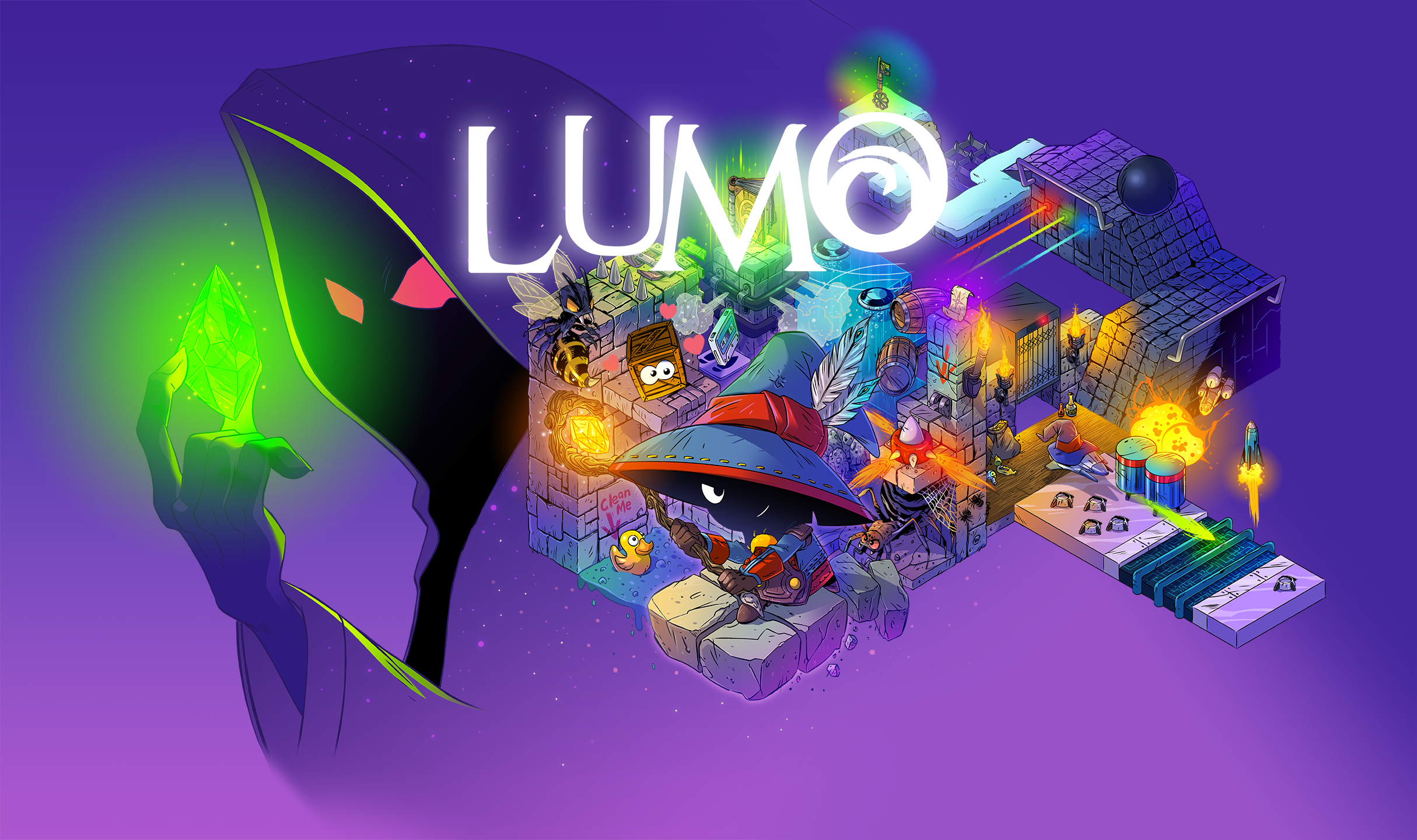 Isometric Puzzler 'Lumo' Coming To Nintendo Switch