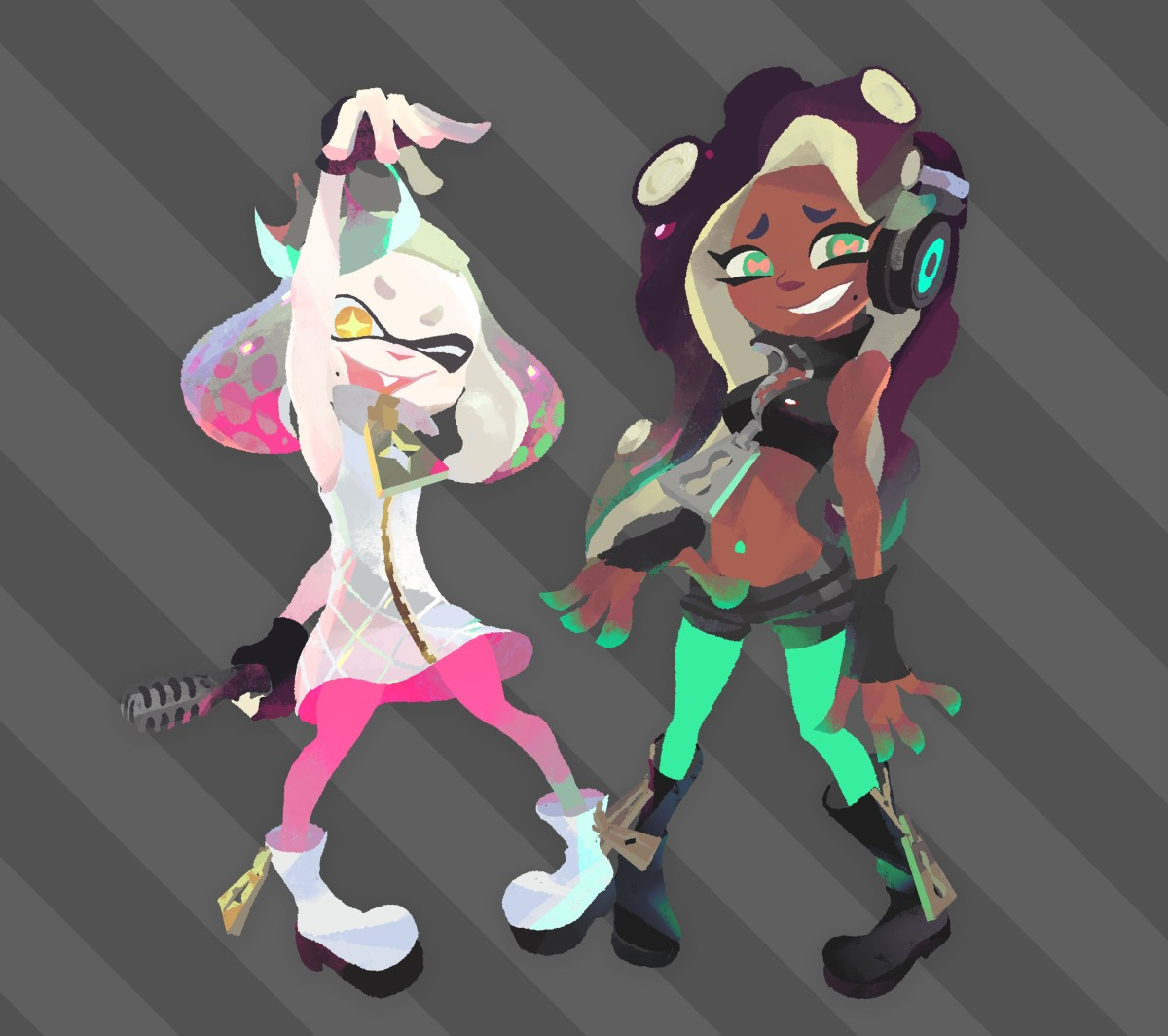 Splatoon 2 Pearl And Marina Amiibo Announced My Nintendo News