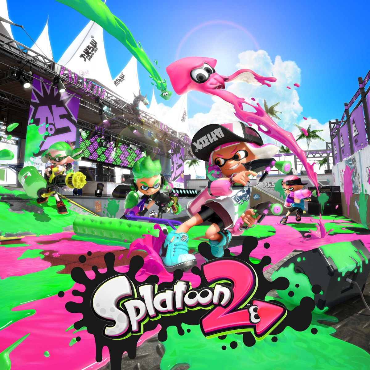 New Hairstyles And Gear Coming To Splatoon 2 My Nintendo News