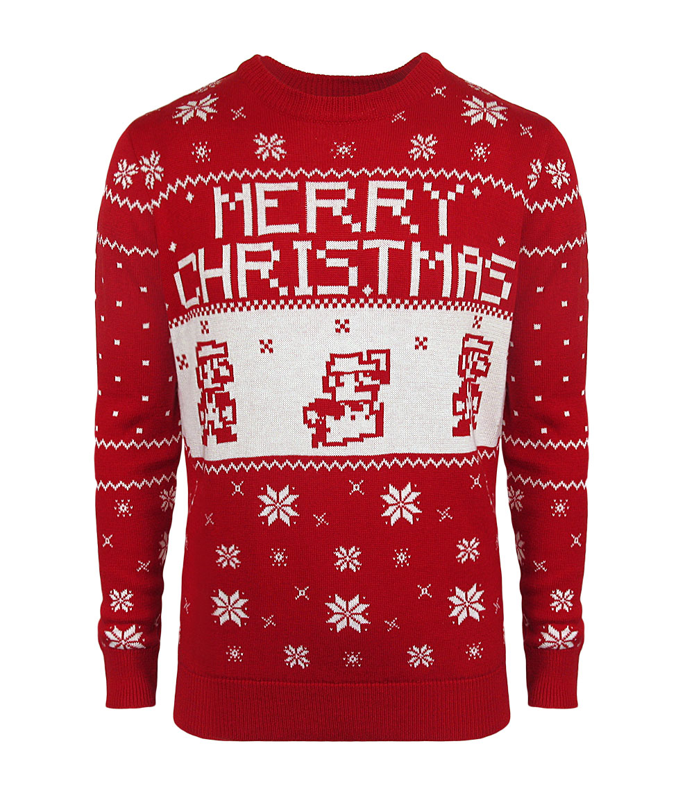 Merchoid Reveal Their New Line Of Nintendo Christmas Sweaters