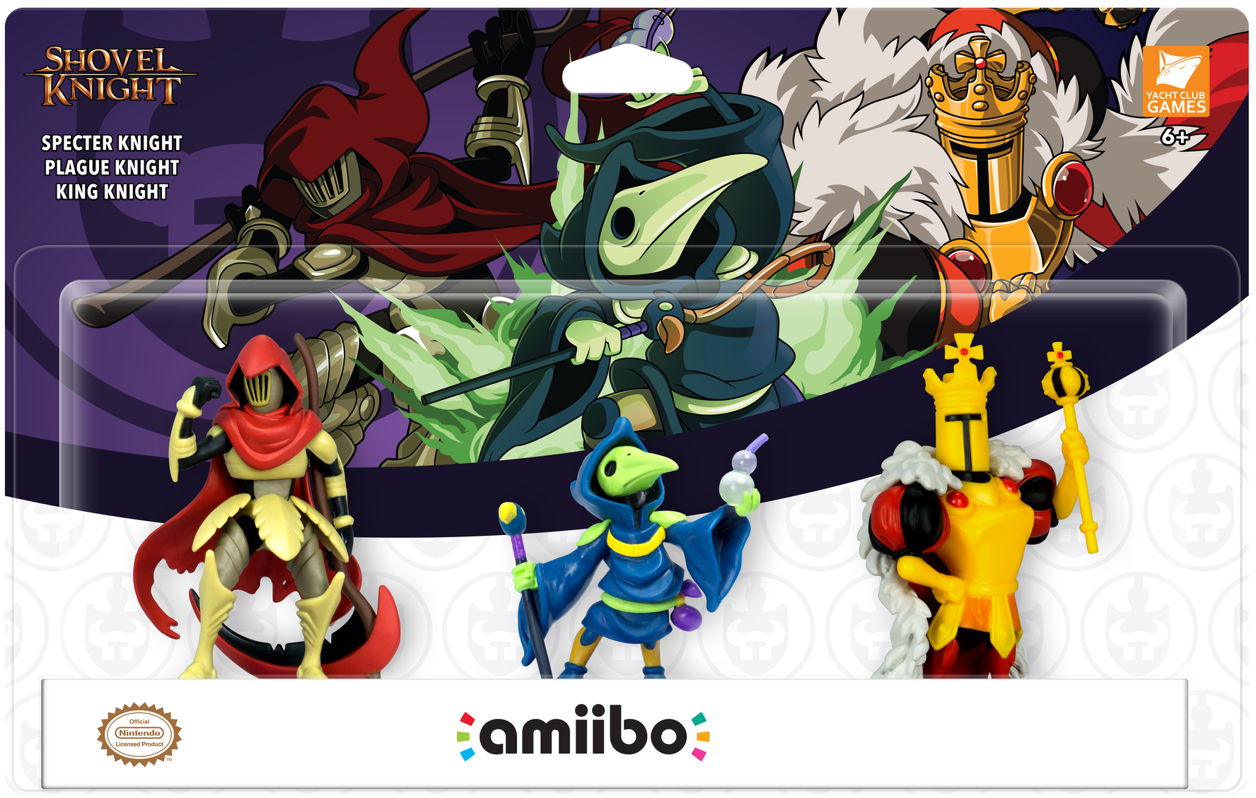 New Shovel Knight amiibo triple pack announced