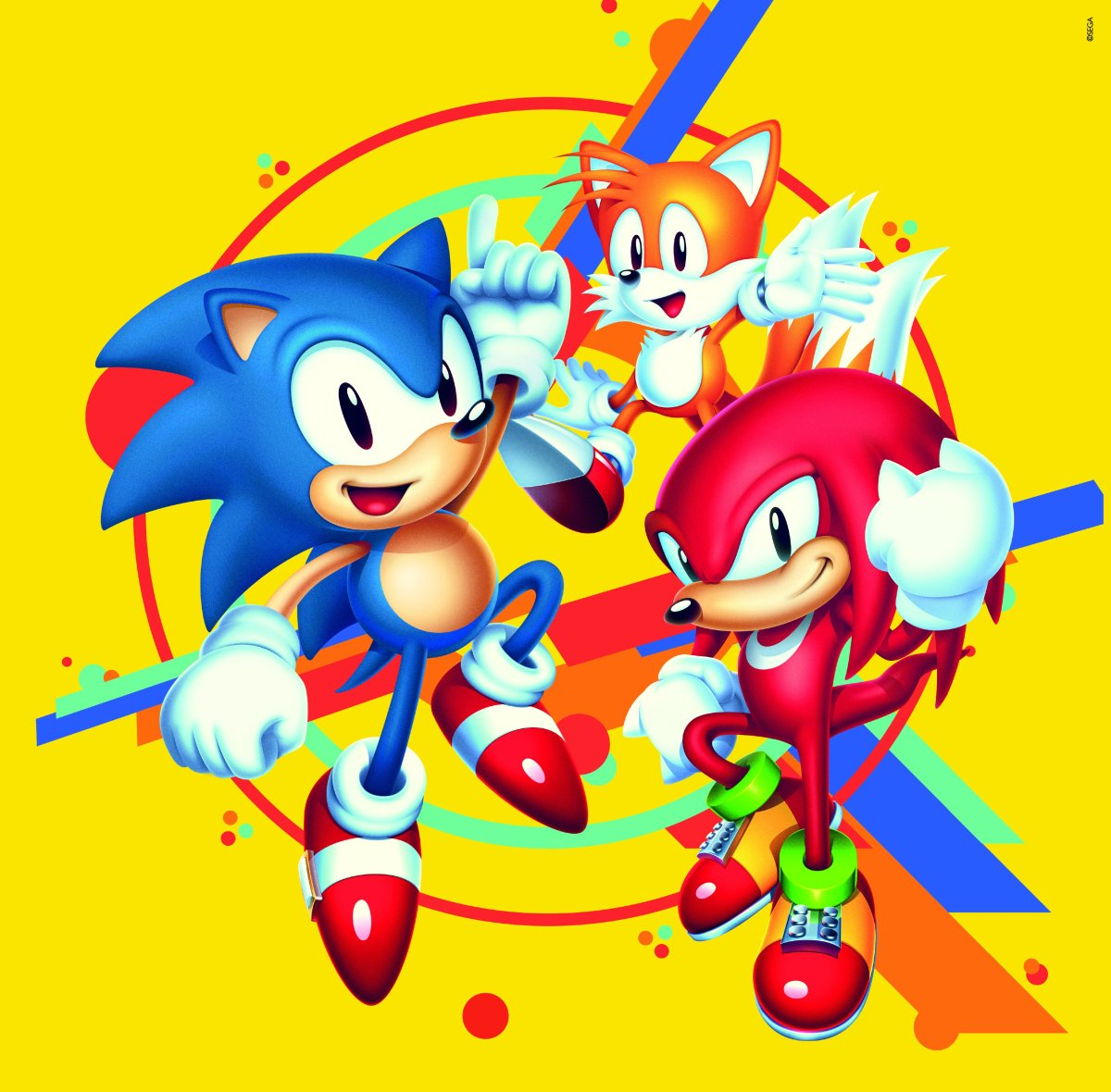 sonic and tails play sonic mania