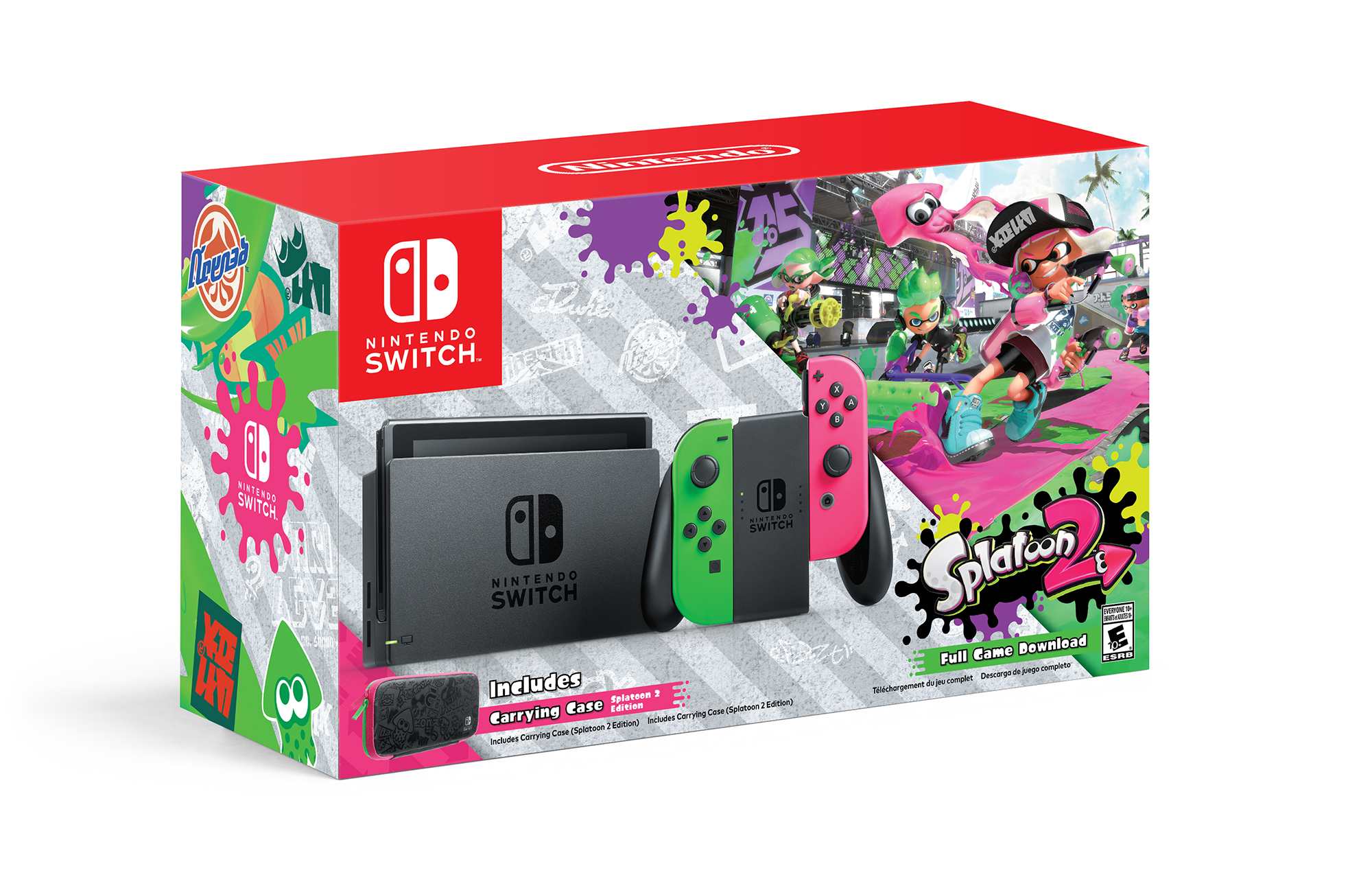 Splatoon 2 Nintendo Switch Bundle In Stock At Walmart Online