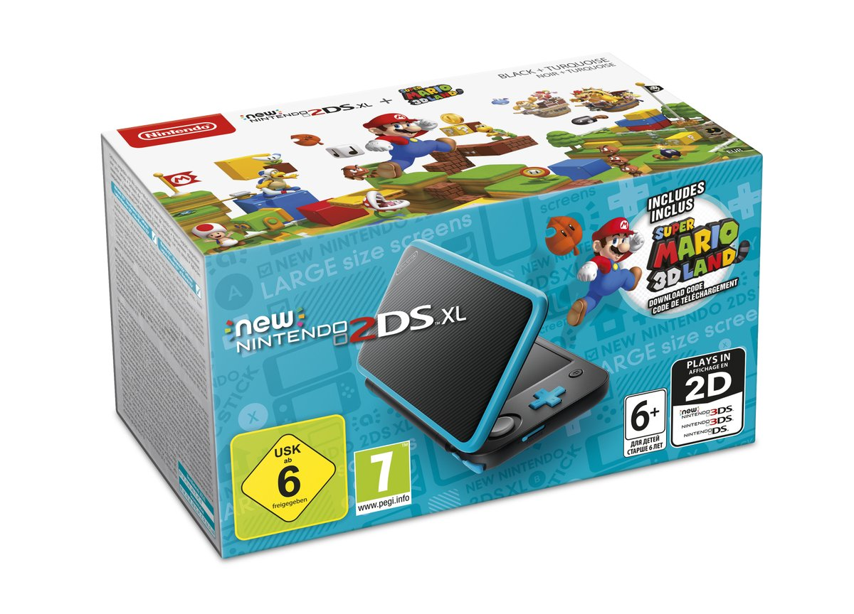 Nintendo france reveal new nintendo 2ds xl bundle for for Housse new 2ds xl