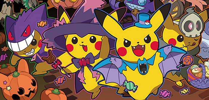 Image result for pokemon halloween