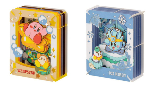 Play Asia: Kirby's Dream Land Paper Theatre Paper Craft Kits