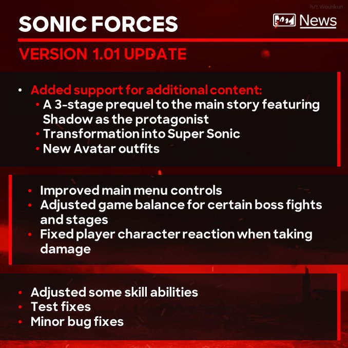 Sonic Forces' Launch Trailer is Suitably Speedy