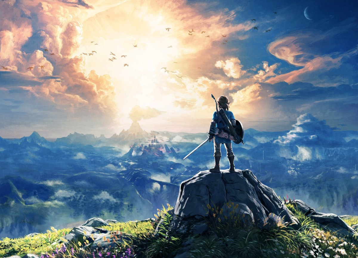 Zelda Breath Of The Wild Wallpaper 4k: Games Writer Says Zelda: Breath Of The Wild Saved Him From