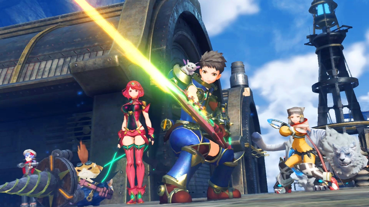 Image result for xenoblade chronicles 2 cutscenes characters