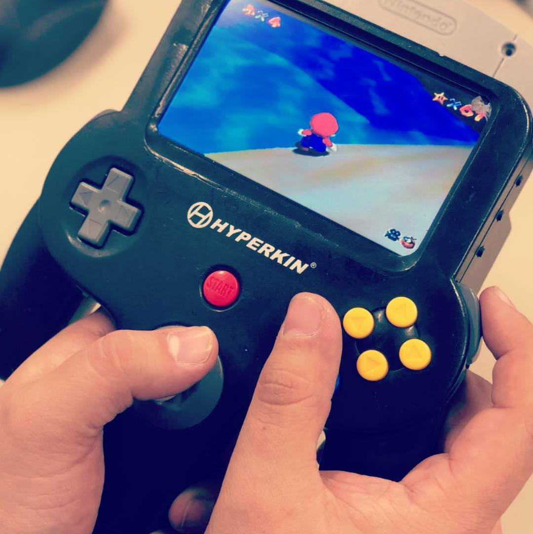 Take A Look At This Prototype Portable N64 Created By Hyperkin