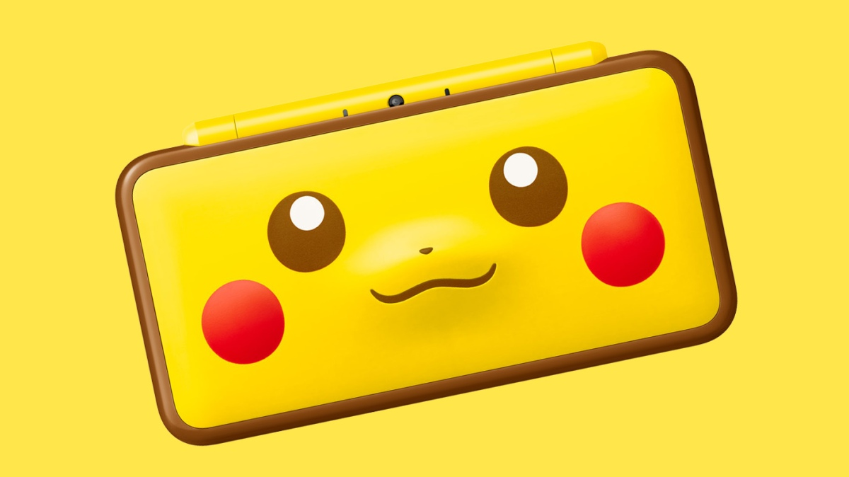 Pikachu Themed Nintendo 2ds Xl Also Coming To Australia My