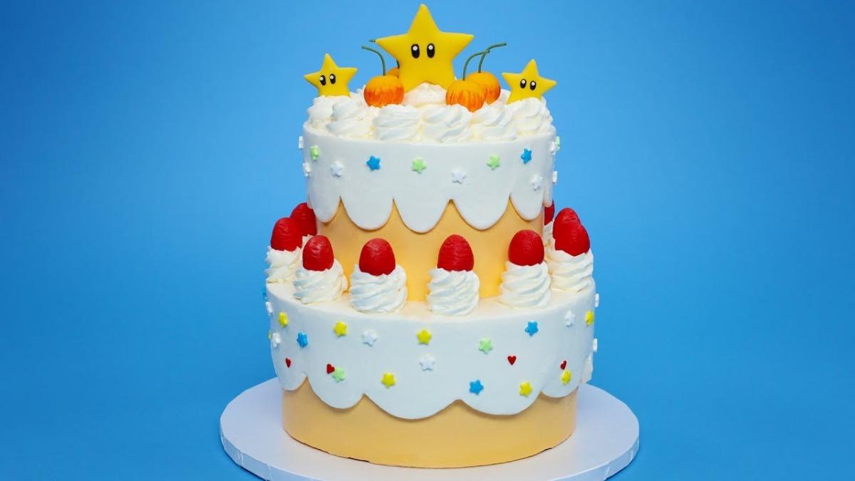 How To Make A Nintendo Cake