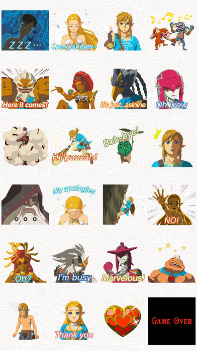 zelda_sticker_pack