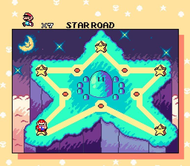 Super_Mario_World_with_Yoshis_Island_art_style_screenshot_4