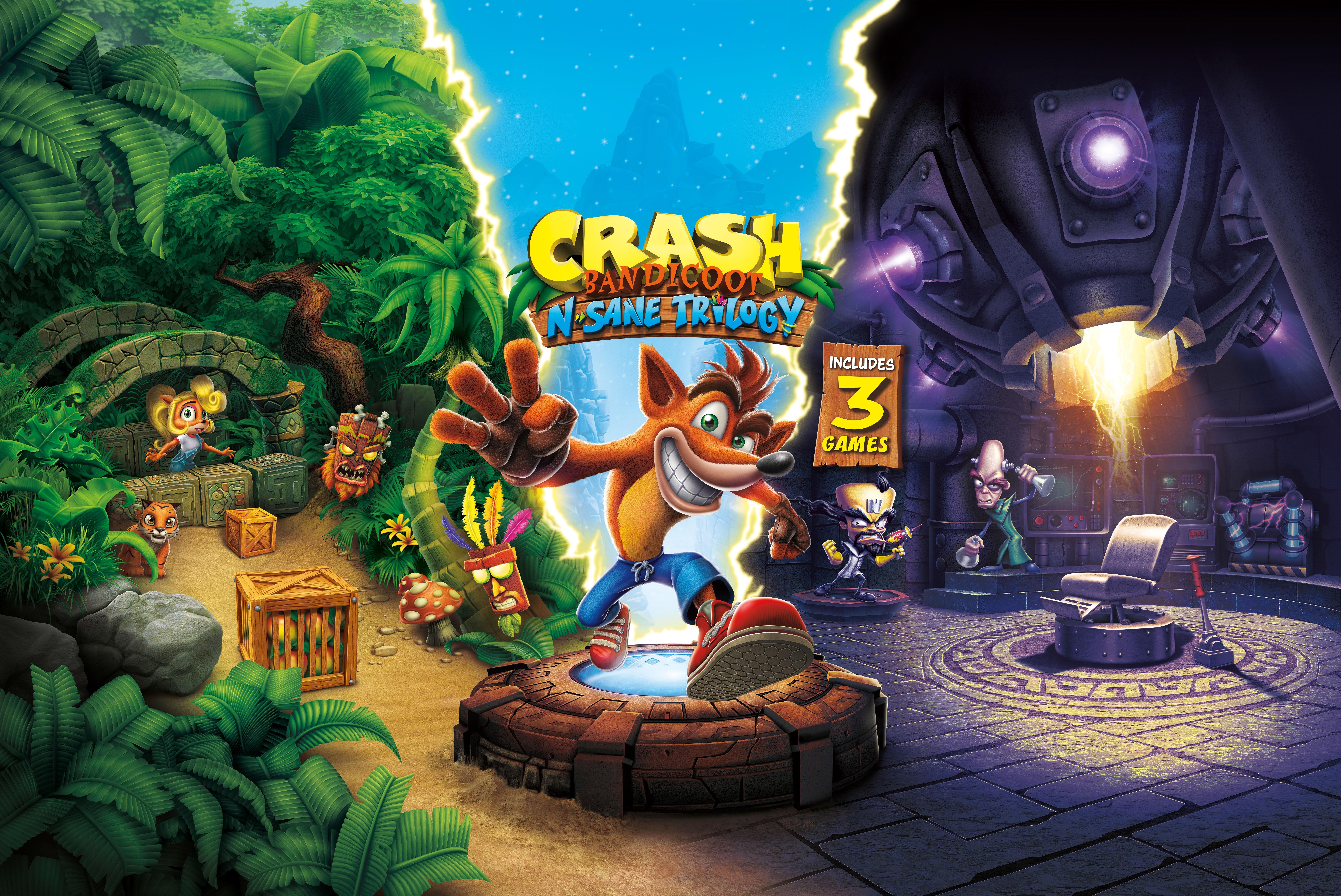 Crash Bandicoot On Nintendo Switch Docked Mode Is 720p And