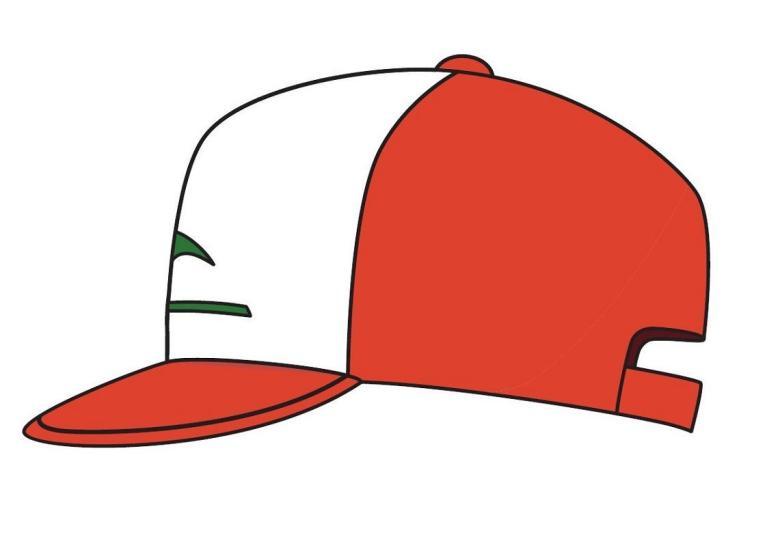 Nintendo Trademarks Ash Ketchum Cap And Logo  cd5d00678fc
